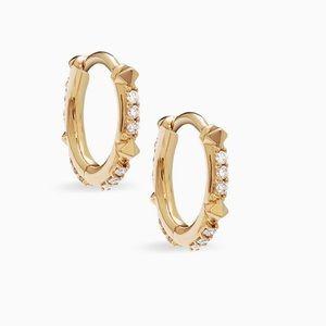 Brand new Kendra Scott Diamond Earrings